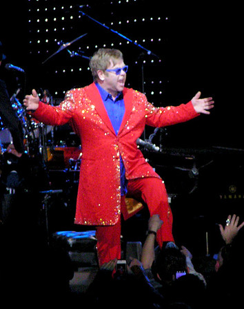 ELTON JOHN in Macon 2013
